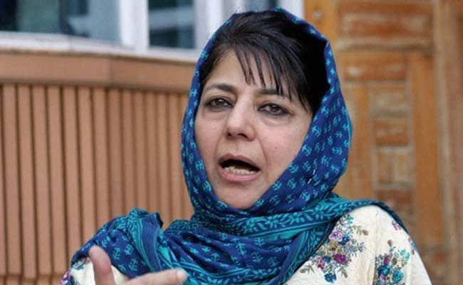 Government Denied Passport Over 'National Security': Mehbooba Mufti
