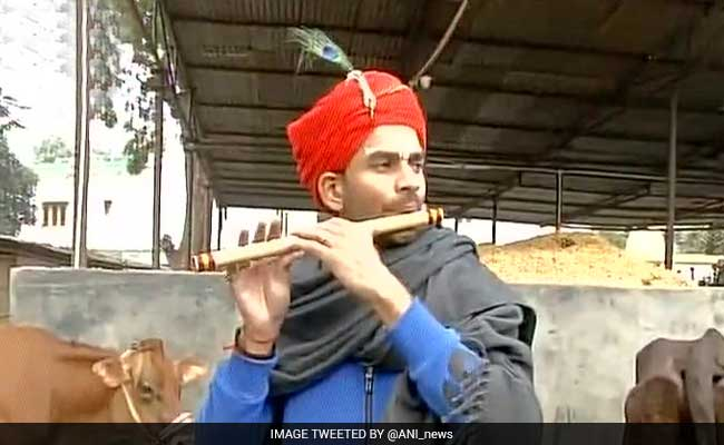 'So You're Lord Krishna Now?' PM Narendra Modi Joked With Lalu's Son In Patna