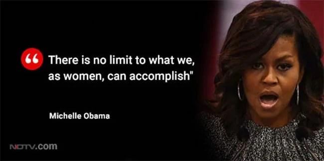 michelle obama pull quote
