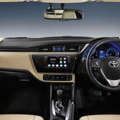 All New Corolla Altis 2019 Aksesoris Grand Avanza 2017 Toyota Facelift Launched In India ...
