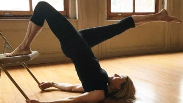 5 Easy Chair Yoga Poses You Can Do Anywhere  NDTV Food