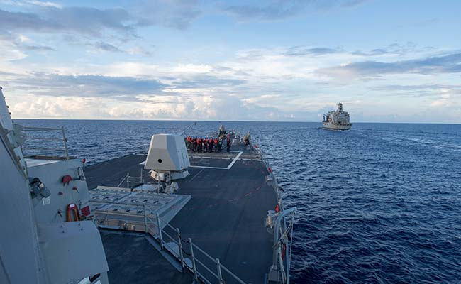 US Planning More Regular South China Sea Patrols: Report