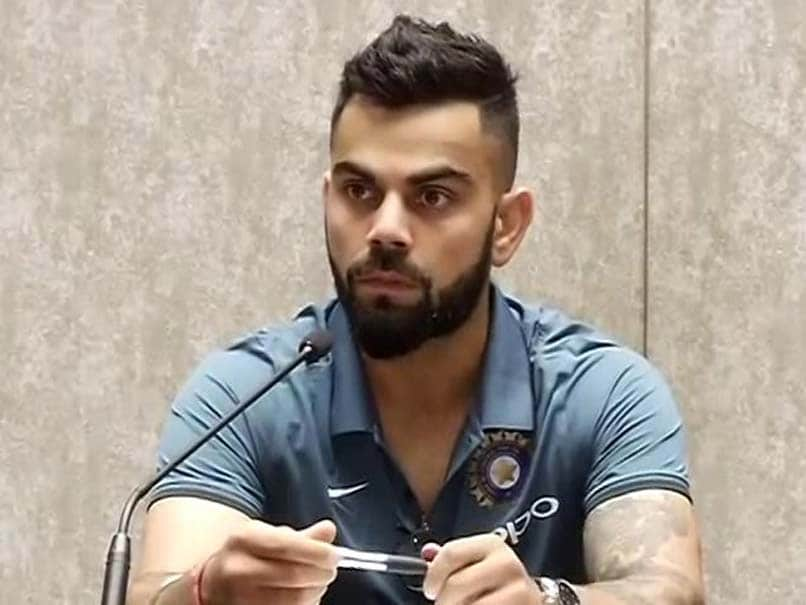 ICC Champions Trophy 2017 Angry Virat Kohlis Response To