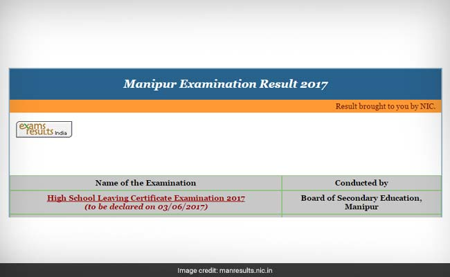 manipur 10th result 2017