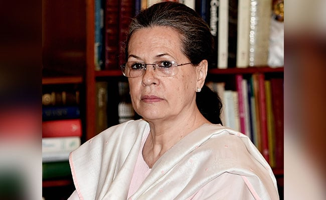 Thank God For Election Commission, Says Sonia Gandhi On Ahmed Patel's Win