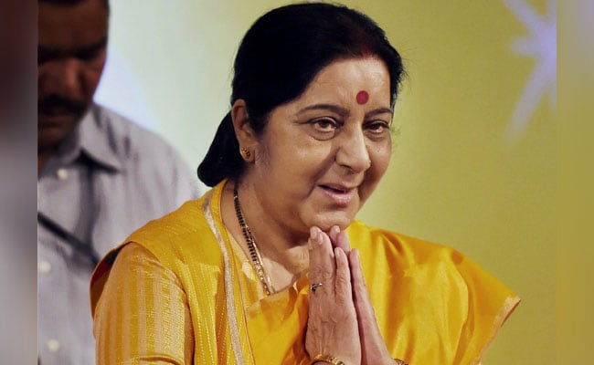 Sri Lanka Welcomes Sushma Swaraj To Indian Ocean Conference