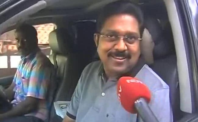 Sidelined AIADMK Leader Dinakaran Not For Fall Of Palaniswami Government