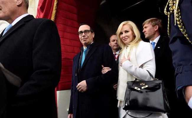 US Treasury Chief's Wife Apologizes Over Instagram Post