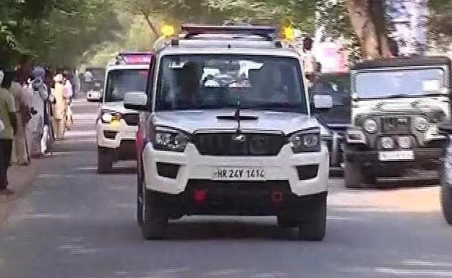 Ram Rahim's 100-Car Convoy Heads To Court Ahead Of Verdict: 10 Points