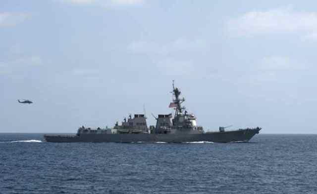डोकलाम में भारतीय फौज तैनात तो चीन सागर में घुसा अमेरिकी युद्धपोत