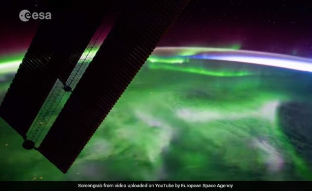 Watch: Stunning Time-Lapse Of Northern Lights, As Seen From Space