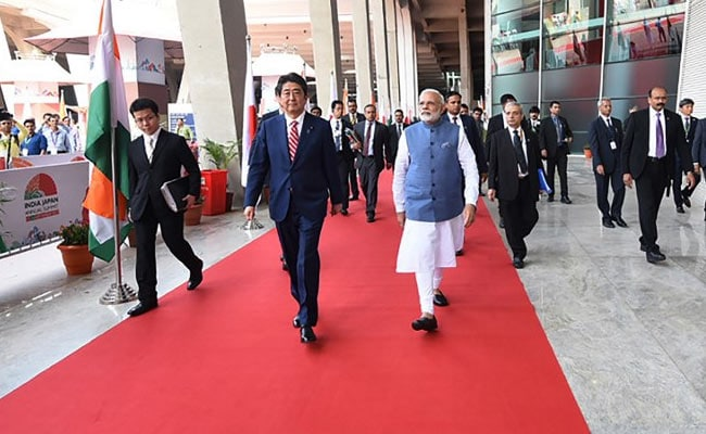 With China In Mind, Japan, India Agree To Deepen Defence Ties