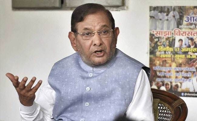 Sharad Yadav's Party LJD To Contest 51 Seats In Bihar Polls