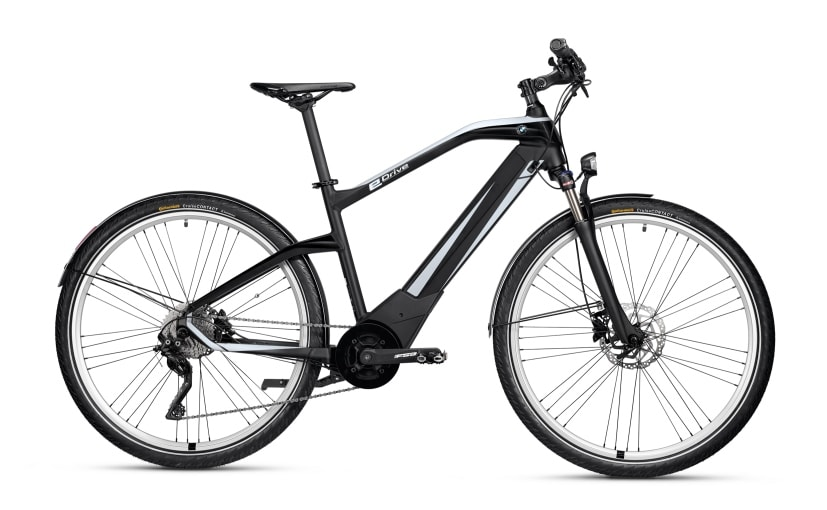 BMW's New Active Hybrid e-Bike's Battery Offers A Range Of