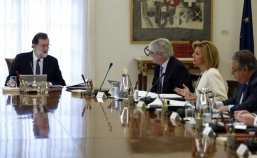 Image result for Spanish cabinet meets to impose direct rule in Catalonia