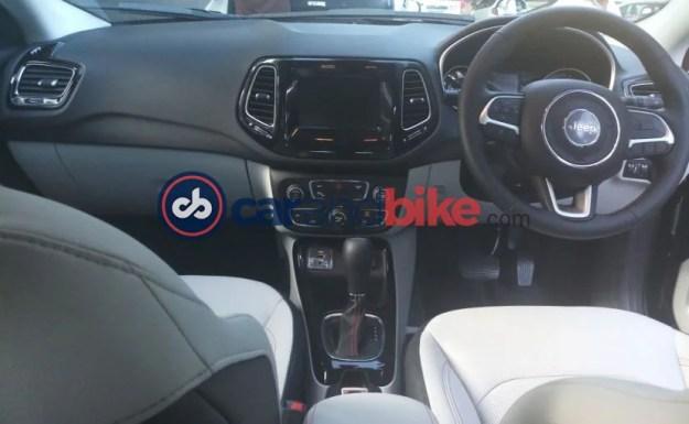 jeep compass petrol automatic cabin