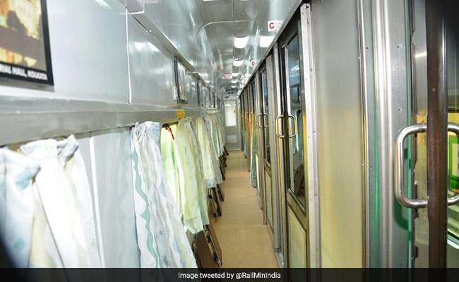 AC Trains To Have Operation Theatre-Like Fresh Air Pumped Into Coaches