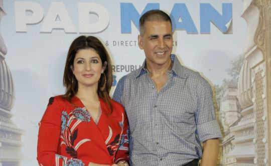 Image result for twinkle with akshay padman