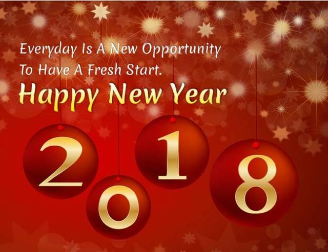 new year sms greetings