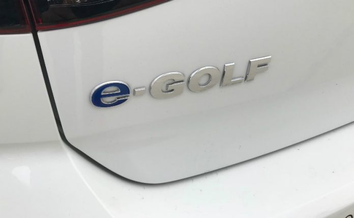 volkswagen egolf badge