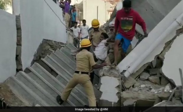 1 Dead, At Least 9 Stuck After Under-Construction Building Collapses In Bengaluru