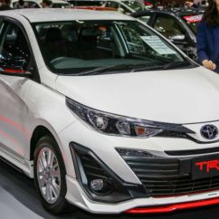 Toyota Yaris Trd Sportivo Specs Logo Grand New Avanza 2018 Variant Showcased At Bangkok Motor Show