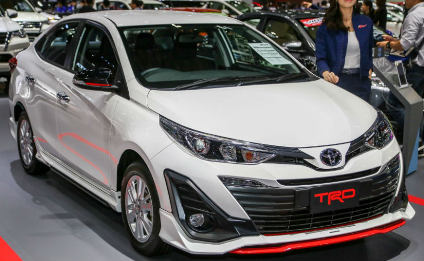 toyota yaris trd sportivo 2018 price new variant showcased at bangkok motor show