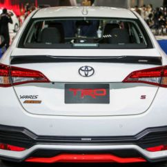 Toyota Yaris Trd Grand New Avanza G 2016 2018 Variant Showcased At Bangkok Motor Show