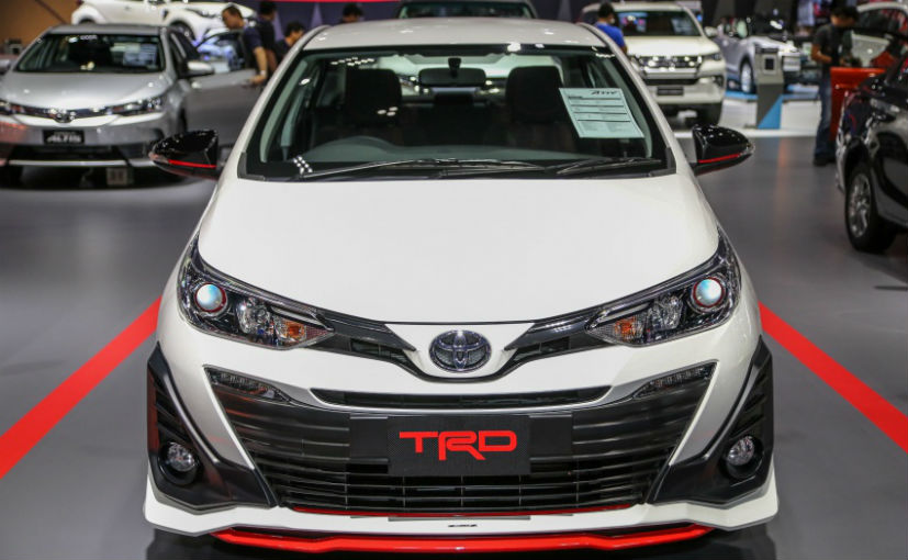 toyota yaris trd sportivo manual grand new avanza e 2017 2018 variant showcased at bangkok motor show