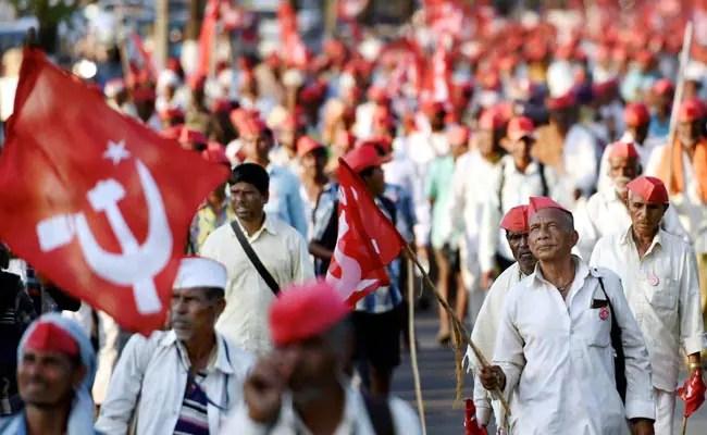 farmers march mumbai