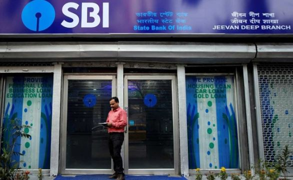 SBI Shows Record First-Quarter Profit, Shares At All-Time High