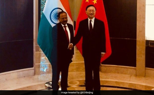Ajit Doval Meets Top Chinese Diplomat After Last Year's Doklam Stand-Off