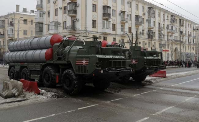 s 400 missile system reuters