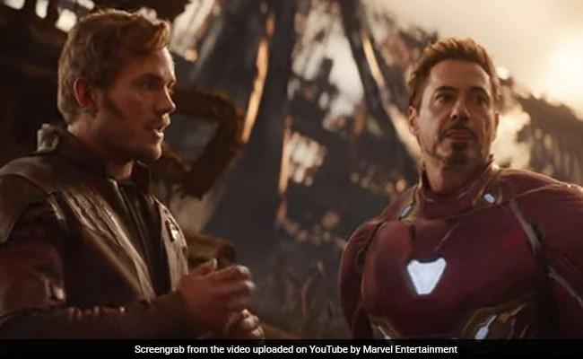 avengers infinity war box