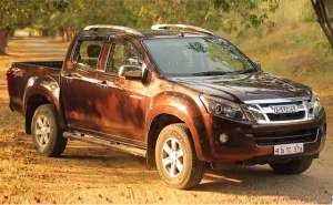 First Look: Isuzu DMax VCross 4x4 Pickup Truck
