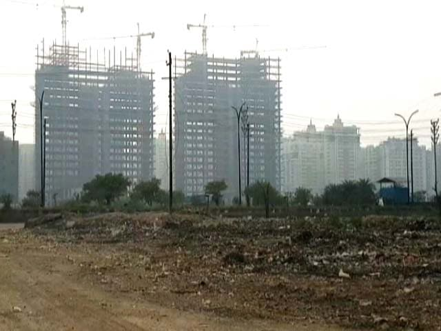 In Noida Garbage Dumps High Rises Sit Side By Side