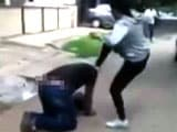 Video : Caught on Camera: Woman Kicks Man Who Harassed Her