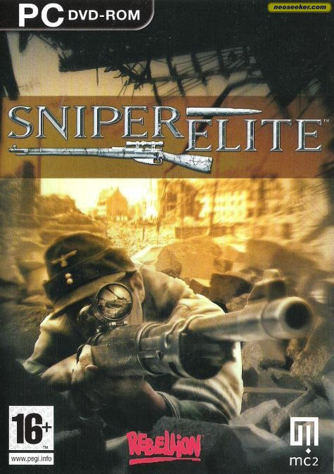 Sniper Elite PC Front cover