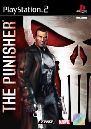The Punisher PS2 Front Cover