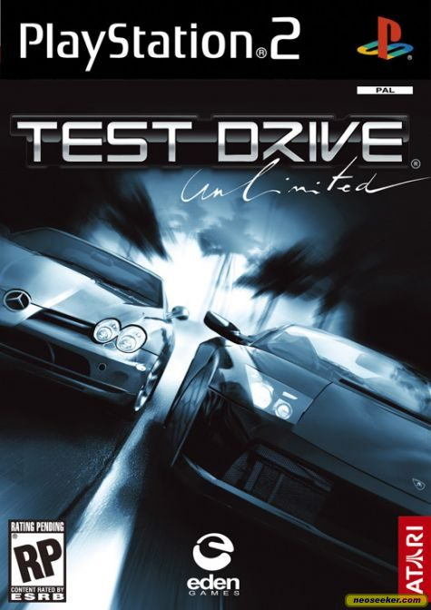 Test Drive Unlimited PS2 Front cover