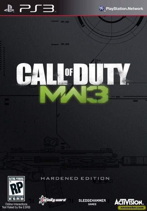 Call of Duty Modern Warfare 3 PS3 Front cover