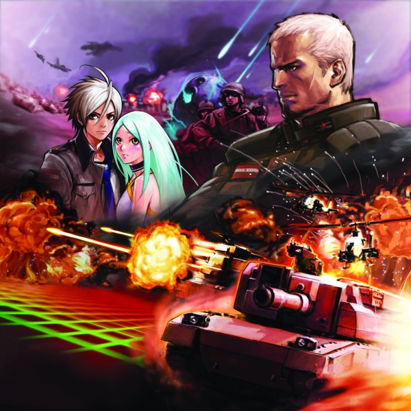 Advance Wars Days of Ruin Concept Art