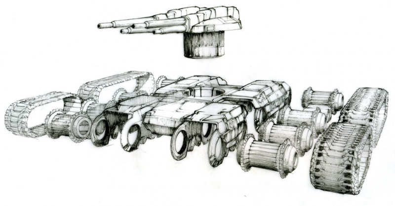 Command & Conquer 3: Tiberium Wars Concept Art