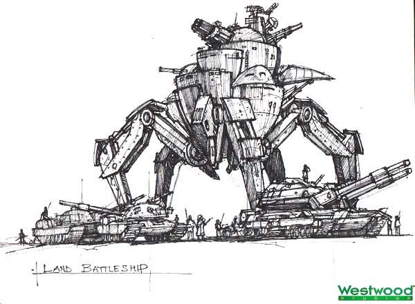 Command & Conquer: Red Alert 2 Concept Art