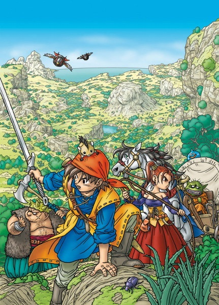 Dragon Quest VIII Journey Of The Cursed King Concept Art