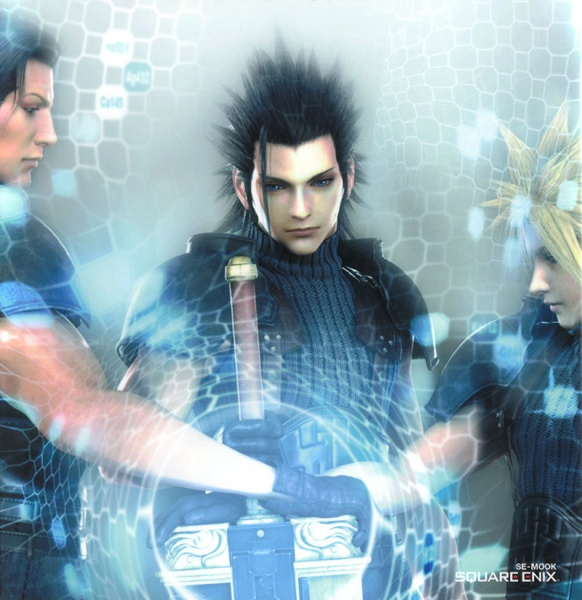 Crisis Core Final Fantasy VII Concept Art