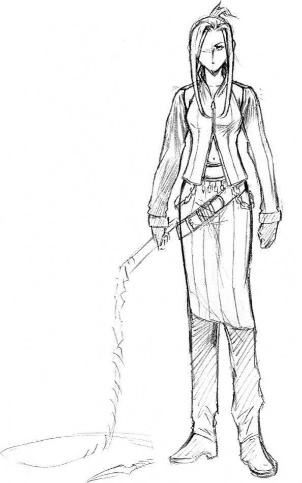 Final Fantasy VIII Concept Art