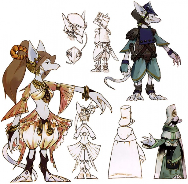 Final Fantasy IX Concept Art