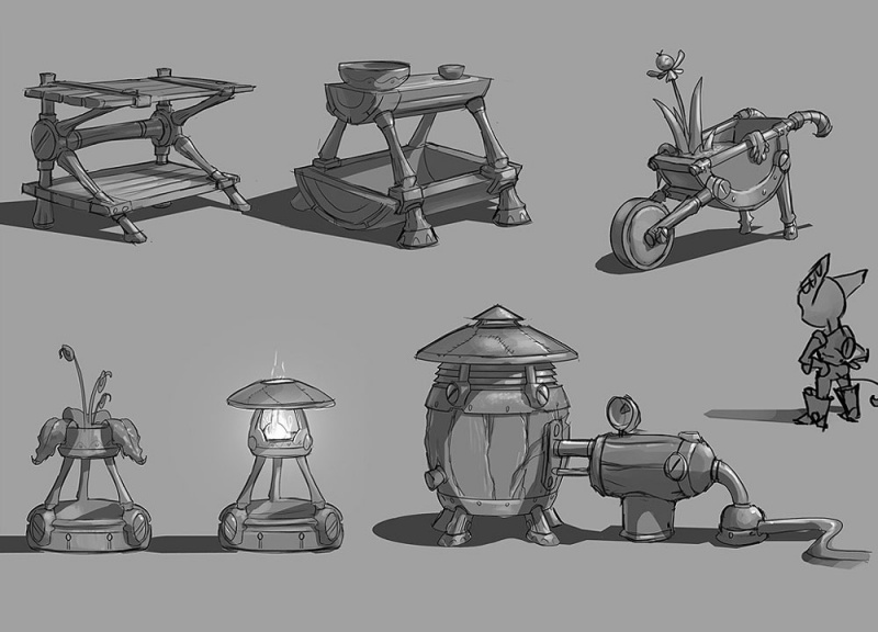 Ratchet & Clank Future: A Crack in Time Concept Art