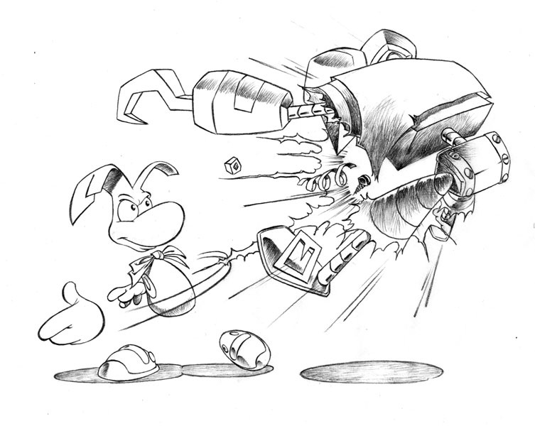 Rayman 2: The Great Escape Concept Art